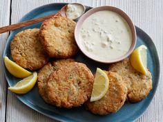 Vegan Chickpea Crab Cakes