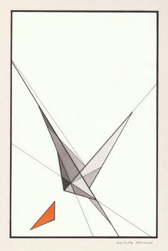 Bird of prey is part of a series of abstract bird drawings, made with art markers and multiliners.