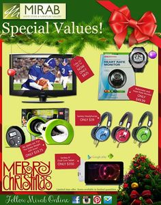Special Values available ONLY at Mirab's Home Store!