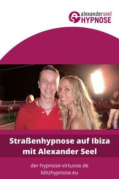Strassenhypnose Ibiza Juli mit Alexander Seel, hier geht es zum Hypnose-Fotoalbum. Bei einer Straßenhypnose kommt meist die Blitzhypnose als Hypnoseinduktion zum Einsatz und jen nachdem was die Teilnehmer erleben wollen folgen interessante Suggestionen aus der Showhypnose und/oder ganz viele Wohlfühlsuggestionen. #straßenhypnose #blitzhypnose #AlexanderSeel #Hypnose #Ibiza #Showhypnose Ibiza, Coaching, Entertainment, Pictures, Photograph Album, Thoughts, Learning, Ibiza Town
