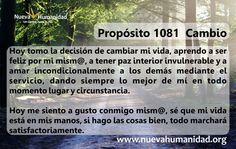 Propósito 1081 Cambio