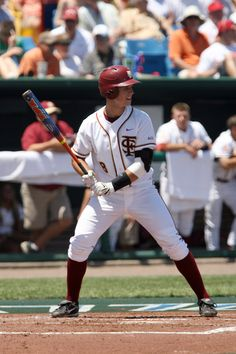 Buster Posey in FSU Home Whites