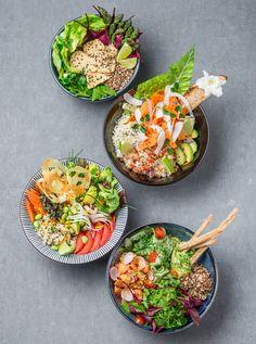 Le Poke bowl, le plat venu d'Hawaii auquel vous n'échapperez pas – ThePins Healthy Cooking, Healthy Eating, Cooking Recipes, Healthy Recipes, Clean Eating, Stop Eating, Poke Bowl, Good Food, Yummy Food
