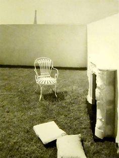 Carlos de Beistegui's apartment in the Champs Élysées by Le Corbusier. The terrace.