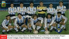 ARGENTINA 1991. Campeón de Copa América - BOTEFÚTBOL