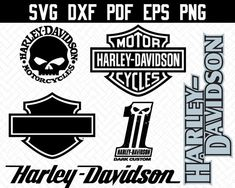 Harley Davidson Stickers, Shots Ideas, Big Shot, Vinyl Projects, Vinyls, Stencils, Biker, Decals, Fonts
