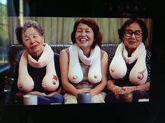 Boobie scarfs