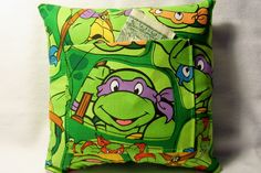 Tooth Fairy Pillow Teenage Mutant Ninja by TheBestGrandmaEver, $5.85