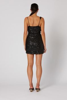 MORPH SHORT DRESS – W I N O N A Transform Your Life, Dresses For Sale, Cowl, Short Dresses, Sequins, Textiles, Slim, How To Wear, Style