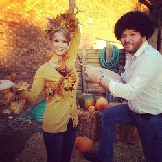 bob ross halloween costume couples cartooncreative co