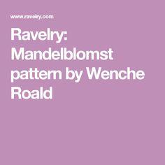 Ravelry: Mandelblomst pattern by Wenche Roald
