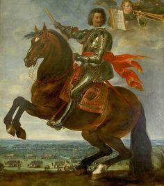 Charles Bonaventure de Longueval, 2e. Comte de Bucquoy (1571 - 1621).