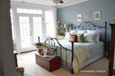 Benjamin moore mill springs blue ideas for the kitchen for Kitchen colors with white cabinets with rouleau papier cadeau