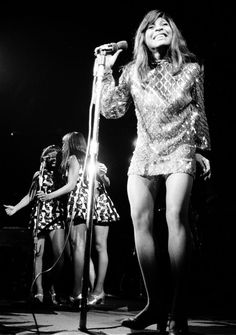 Oh Yeah! Tina Turner and The Ikettes! and those legs!!!