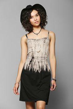 Joypeace Tie-Dye Dip Tank Dress - Urban Outfitters