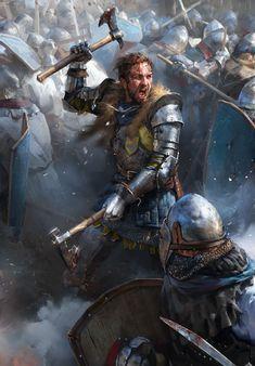 Fantasy Concept Art, Fantasy Story, Fantasy Character Design, Character Art, Character Design Inspiration, Fantasy Battle, Fantasy Armor, Medieval Fantasy, Dark Fantasy