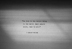 Oscar Wilde #JuicyWords