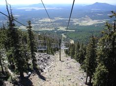 Flagstaff, AZ : Snow bowl Flagstaff chairlift photo, picture ...