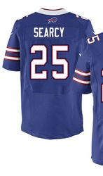 "$78.00--Da'Norris Searcy Jersey - Elite Blue Home Nike Stitched Buffalo Bills #25 Jersey,Free Shipping! Buy it now:click on the picture, than click on ""visit aliexpress.com"" In the new page."