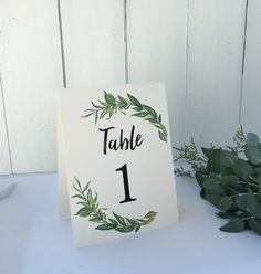 These beautiful greenery modern rustic chic table numbers are perfect to display at your wedding reception. See more here: https://loveofcreatingdesign.com/collections/table-numbers/products/copy-of-marsala-table-numbers