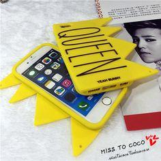 Bigbang VIP exklusive Kaiserkrone silikon Handyhülle für Iphone6/6s/6plus