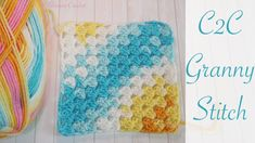 Easy Crochet: Corner to Corner Granny Square Blanket