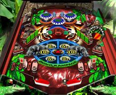 Nice pinball game with an animal sounds and jungle environment!