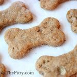 (Small batch) Peanut Butter Banana   Flax Seed Dog Biscuits
