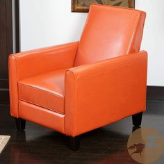 Shop a great selection of Christopher Knight Home 252422 Lucas Recliner Club Chair, Orange. Find new offer and Similar products for Christopher Knight Home 252422 Lucas Recliner Club Chair, Orange. Living Room Chairs, Living Room Furniture, Dining Chairs, Basement Furniture, Outdoor Furniture, Side Chairs, Furniture Ideas, Modern Furniture, Dining Room
