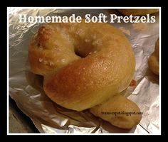 texas expat: Homemade Soft Pretzels