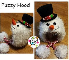 Fuzzy Hood Toddler-Adult