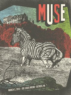 #Muse - gig #poster