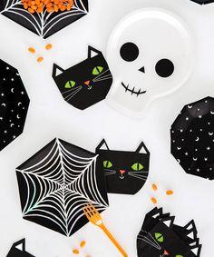 Halloween Cat Napkins
