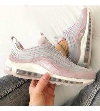 Chaussures Nike Air Max 97 PRM Femme Pas Cher Prix Rush Pink 312834_200