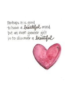 a beautiful mind love essay