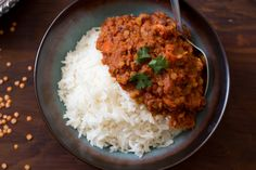 Spicy Red Lentil and Tomato Curry