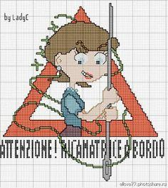 100% _ponto_cruz: Embroiderer aboard! by Lady C