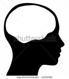female silhouette head - Google Search