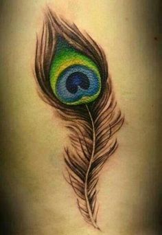 Peacock Feather on Side - Peacock Tattoo Designs Feather Tattoo Cover Up, Peacock Feather Tattoo Meaning, Peacock Tattoo, Feather Tattoo Design, Feather Tattoos, Cover Tattoo, Peacock Feathers, Trendy Tattoos, Tattoos For Guys
