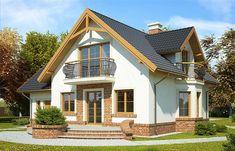 Zdjęcie projektu Juliusz Mały WRP1480 Micro House, Malm, Home Fashion, Futuristic, House Plans, Cabin, Mansions, Nice, House Styles