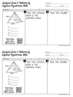 free surface area volume of triangular prisms worksheet geometry worksheets pinterest. Black Bedroom Furniture Sets. Home Design Ideas