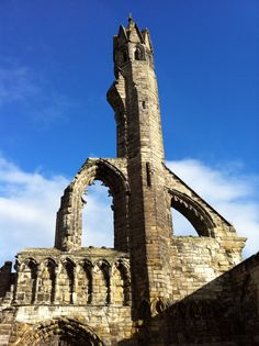 Cathedral ruins, St Andrews
