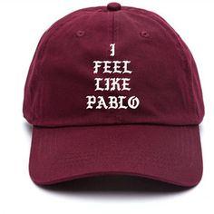 53e8dfd587b I Feel Like Pablo Baseball Hat Kanye West The Life Of Pablo Merch Yeezy  Season 3