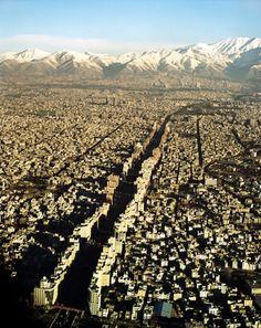 Teheran, Iran...mayyyybe someday
