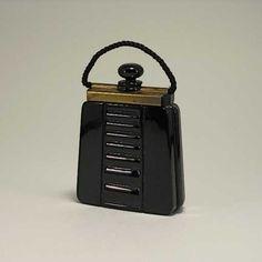 Lot: 241: 1927 Lubin Ouvrez Moi Perfume Bottle, Lot Number: 0241, Starting Bid: $200, Auctioneer: Perfume Bottles Auction, Auction: Perfume Bottles Auction, Date: May 1st, 2009 EDT
