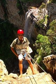 Abseil down a 110 m cliff face, alongside Leh's waterfall, and experience a new dimension in sightseeing near Oribi Gorge, KwaZulu-Natal - Dirty Boots Abseiling, Kwazulu Natal, Rappelling, African Art, South Africa, Waterfall, Coast, Adventure, 5 Seconds