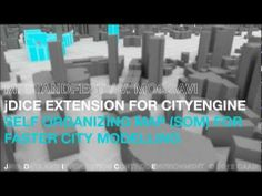 Prespecific City Modelling by ETH Zürich: New research project using Esri CityEngine
