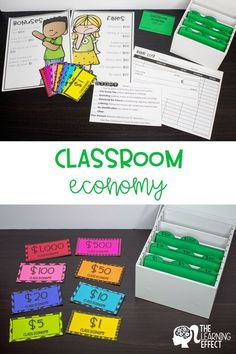 Get your classroom started with a class economy system Perfect for teaching students finance skills in the upper elementary classroom Included in this set are class money. Classroom Money System, Classroom Rewards, Classroom Behavior Management, Classroom Jobs, 3rd Grade Classroom, Token Economy, Finance, Upper Elementary, Elementary Math