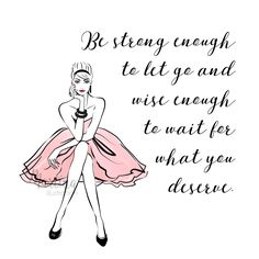 friday quote wise wrods motivation fashion illustration