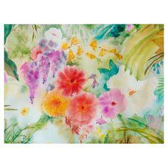 Dream Flowers Canvas Giclee Print